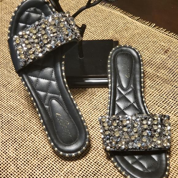 Shoes - Bling Bling Slides